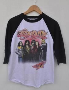 Band Aerosmith 3 Quarter Shirt