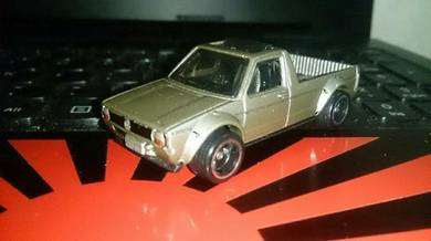 Hot wheels Volkswagen Caddy custom rubber tire