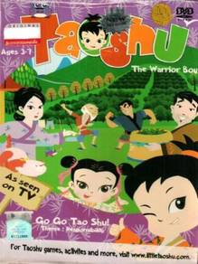 DVD Taoshu The Warrior Boy Go Go Tao Shu Ages 3-7