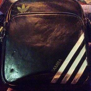 Vtg Adidas Samba Sling Bag