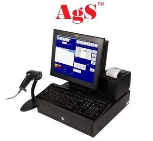 Software POS perniagaan runcit dengan Scanner