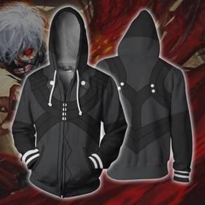 Tokyo Ghoul Anime Black hoodie jacket RBT0098