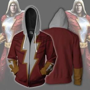 Shazam red hoodie jacket RBT0111
