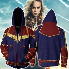 Captain Marvel hoodie jacket RBT0095