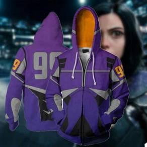 Alita purple hoodie jacket RBT0100