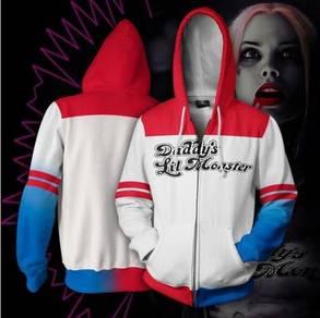 Harley Quinn Suicide Squad hoodie jacket RBT0103