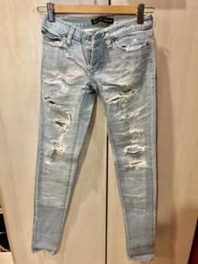 Bardot ripped denim jeans