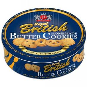 GPR Royal British Butter cookies 454g