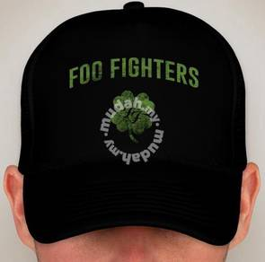 Foo Fighters Clover Snapback Cap