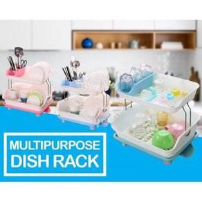 Multipurpose dish rack