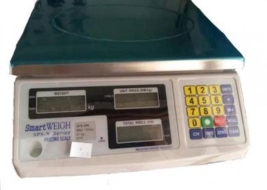 SmartWeigh 30kg Pricing Weighing Scale
