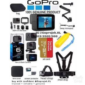 Gopro hero 6 black secara ansuran