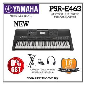 Yamaha PSR-E463 psr e463 Keyboard Package