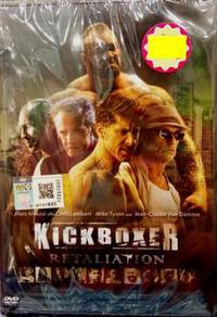 DVD English Movie Kickboxer Retaliation Alain Mous