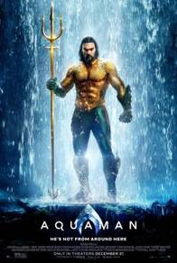 Poster MOVIE AQUAMAN M 3