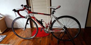 Merida road bike in good condition for sale.