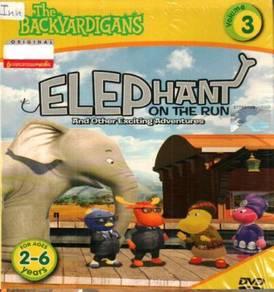 DVD The Backyardigans Elephant On The Run Vol.3