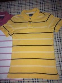 Men dry uniqlo striped polo shirt- dkny ck lv d&g