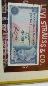 Duit RM1 lama untuk dijual