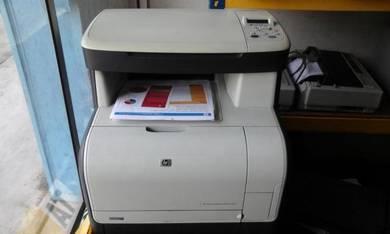HP color laserjet Printer , Scan , Copy CM1312 mfp