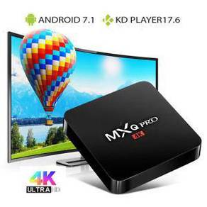 (NEW PROM0) Mxq 4K Android tv decoder box