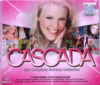 CD Cascada Her Complete Remixes Collection 4CD