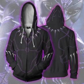 Black panther Hoodie jacket RBT0113
