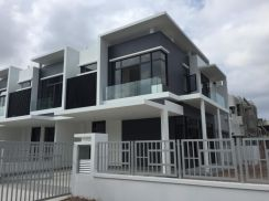 Newly Completed Double Storey Link House
