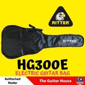 Ritter HG300E Electric Guitar Bag, Black