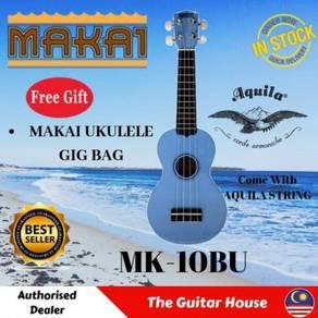 Makai MK-10BU Soprano Mahogany Ukulele w/Bag