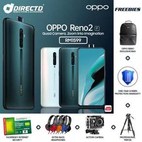 OPPO Reno 2f (8GB RAM   4 KAMERA BLKG) + 6 HADIAH