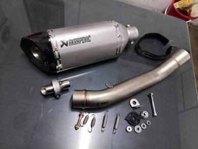 Ekzos exhaust Kawasaki Z750 z750