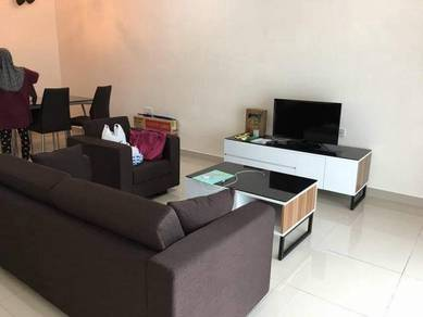 M Condo Larkin FOR RENT, High Floor FULLY Furnished 3Room 2Bath 1100sf