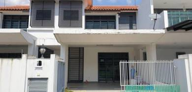 Bandar Dato Onn P12 Double Storey FOR RENT Partial Furnish 4R4B 22x70
