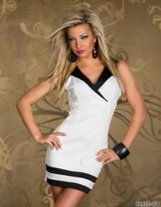 CW130 Sexy Sleeveless Stylist Mini Dress Club Wear