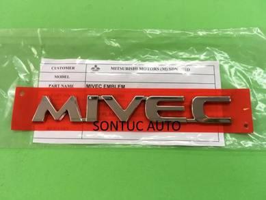 Mitsubishi MIVEC emblem mark ASX Lancer Inspira