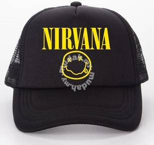 Nirvana trucker cap