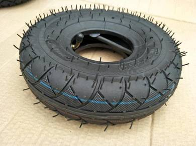 4.1/3.5-4 tyre with rubber inner tube