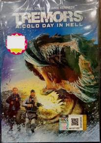 DVD English Movie Tremors A Cold Day In Hell Micha