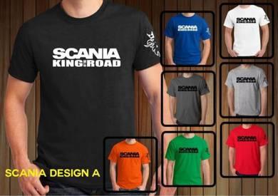 Baju T-Shirt SCANIA 1 NSQ292 siap poslaju