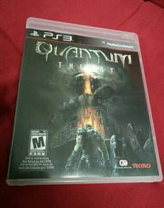 PS3 game QUANTUM THEORY