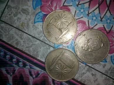 Duit syiling malaysia lama.