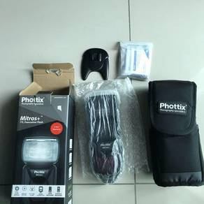 Phottix mitros plus for canon speedlight flash
