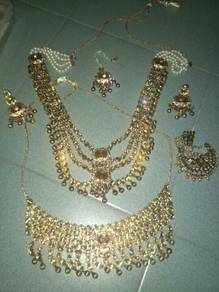 Bollywood jewellery set .