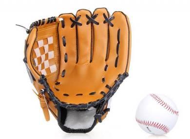 Baseball pitcher left-hand glove