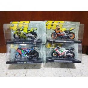 Leo 1:18 Yamaha Honda 2001 MotoGP Motor Diecast