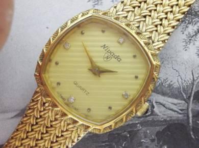 Vintage Nivada gent dress swiss made watch