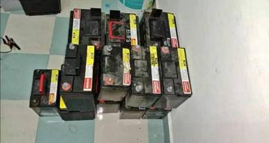 Used car battery KL/SEL