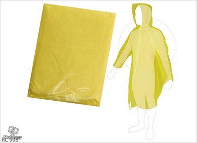 Disposable rain coat