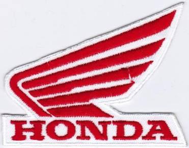 Honda Motorcycle Wing #RTW Racing Badge Patch